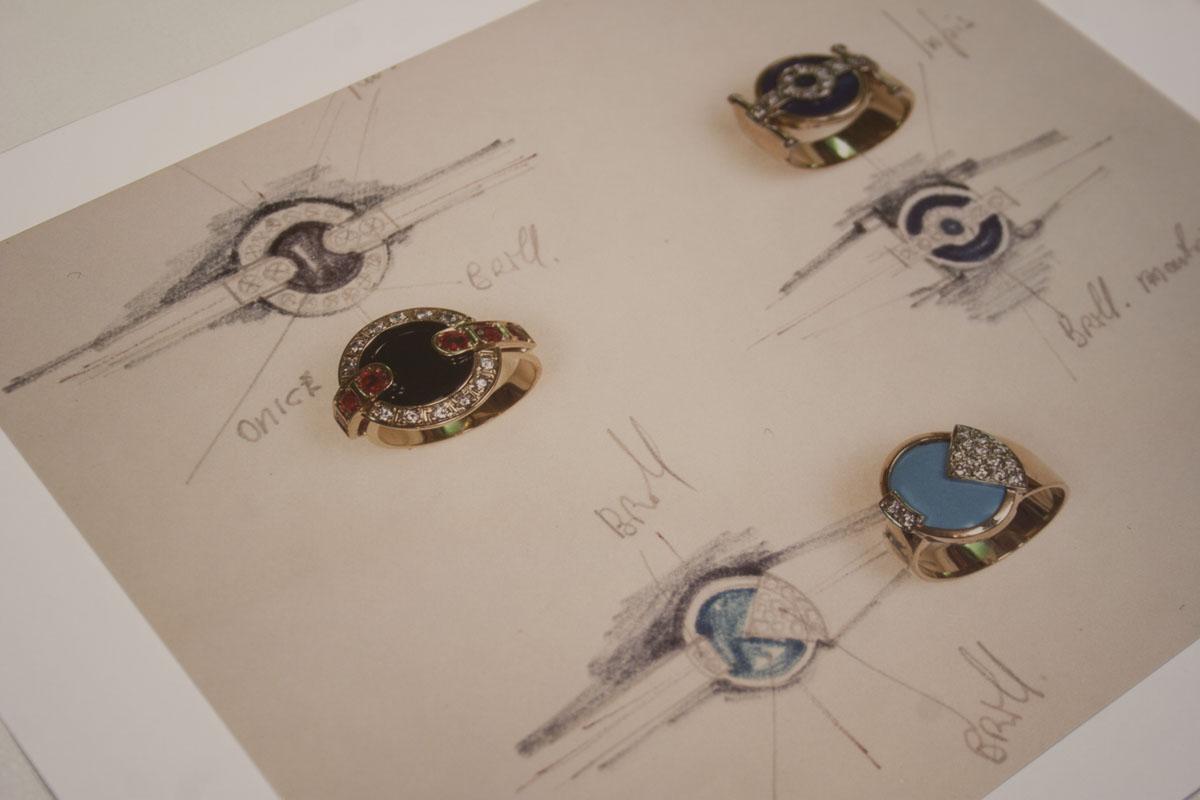 Progettazione classica a matita calandrini pesaro for Design di gioielli
